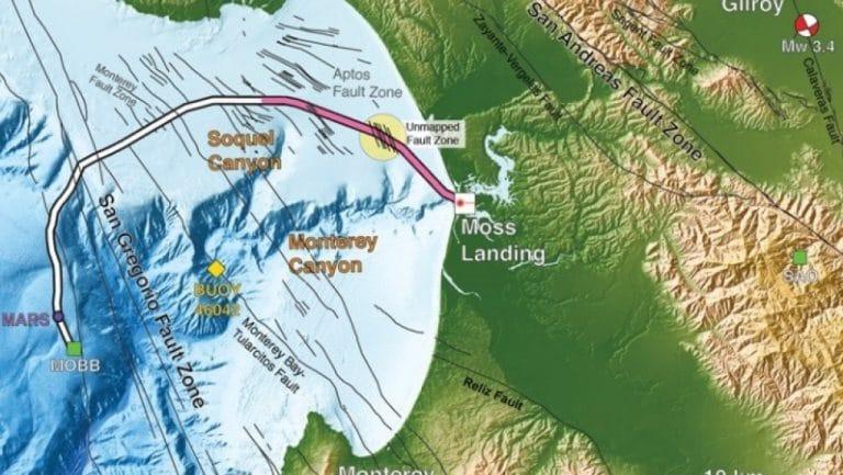 Υποθαλάσσια καλώδια οπτικών ινών σε ρόλο δικτύου σεισμογράφων